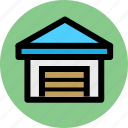 cargo, goods, logistic, logistics, shipping, storehouse, warehouse icon