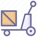 cargo, crate, goods icon