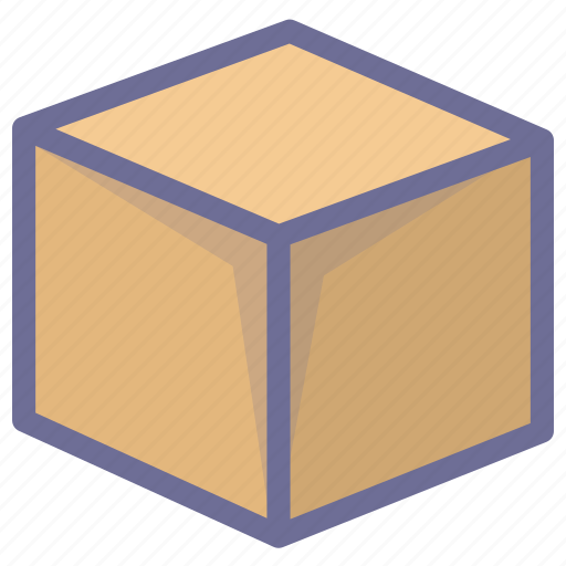box, cargo, goods, package icon