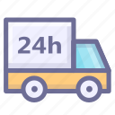 carriage, conveyance, delivery, haul, traffic, transport, transportation icon