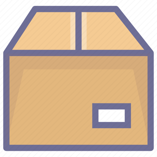 box, crago, goods, package icon