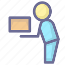 courier, delivery, express delivery icon