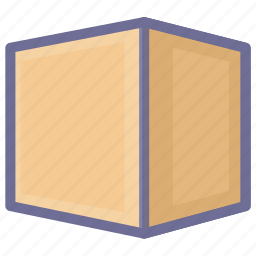 box, cargo, collection, goods, package icon