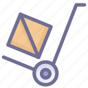 convey, delivery, haul, ship, transport, vehicle icon