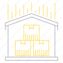 delivery, distribution, shipping, transportation, warehouse icon
