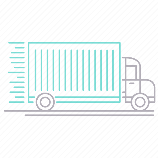 delivery, fast, shipping, transportation, truck icon