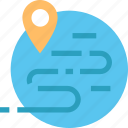 shipping, location, path, pin, tag, tracking, way