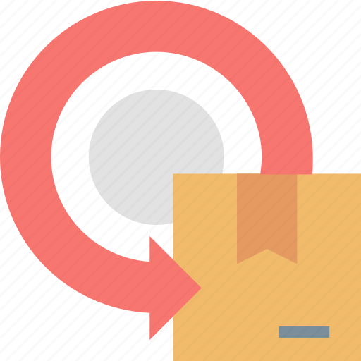 Package, return, box, delivery, parcel, service, shipping icon - Download on Iconfinder