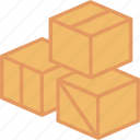 box, delivery, package, parcel, shipping, storage, transportation icon