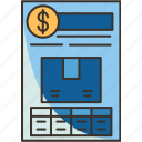 bill, lading, receipt, shipment, invoice
