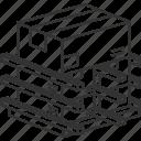 blocking, bracing, cargo, container, load
