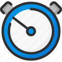 delivery, fast, package, quick, shipping, stopwatch, time icon