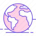 globe, international, world icon