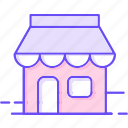 local, sell, shop, store icon