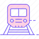 box, delivery, railway, sending, train