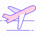 aircraft, take off, plane, delivery