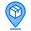 pin, package, delivery, location, tracking