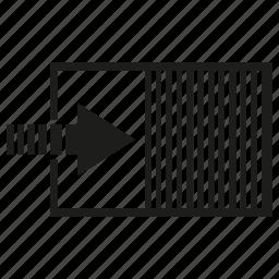 cargo, container, goods icon