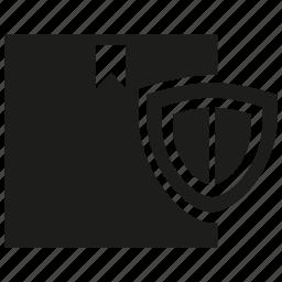 box, protect, shield icon