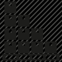box, goods, warehouse icon