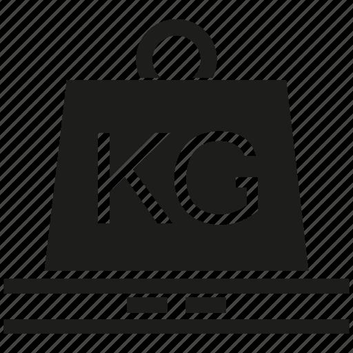 heavy, kilogram, loading, mass, weight icon