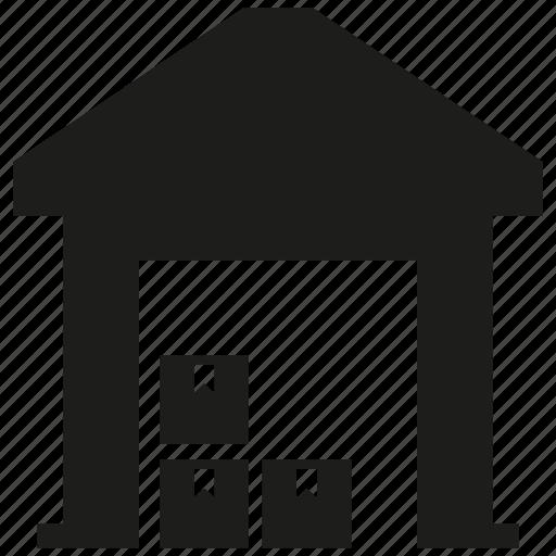box, store, warehouse icon