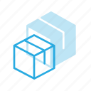 box, delivery, packeging, shipping icon