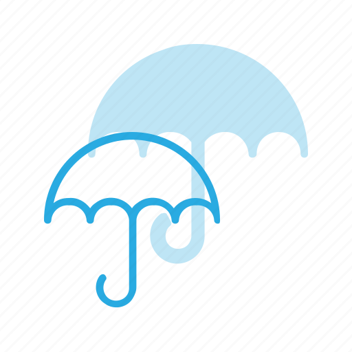 delivery, protection, shipping, umbrella, wet icon