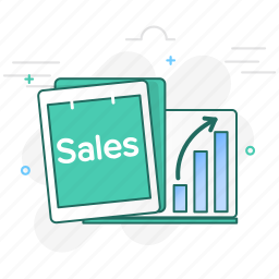 chart, growth, report, reports, sales, statistics icon