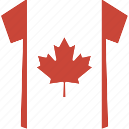 canada, shirt icon