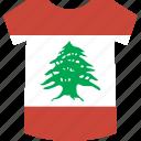 lebanon, shirt