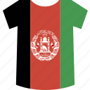 afghanistan, shirt icon
