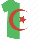 algeria, shirt icon
