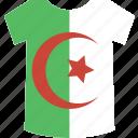 shirt, algeria icon