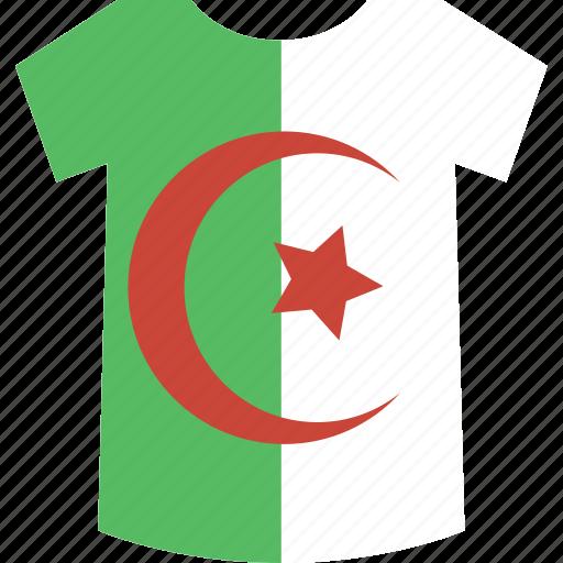 algeria, shirt icon