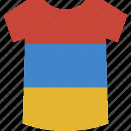 armenia, shirt icon