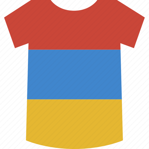 armenia, shirt icon