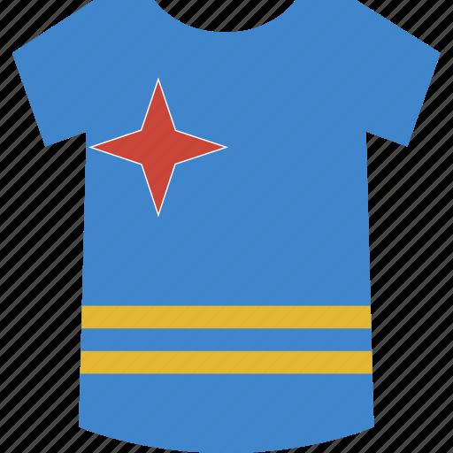 aruba, shirt icon