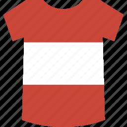 austria, shirt icon