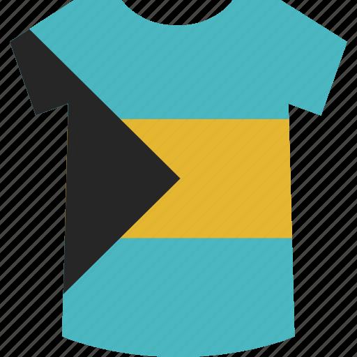 bahamas, shirt icon