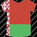 belarus, shirt icon