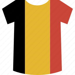 belgium, shirt icon