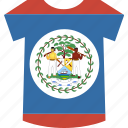 belize, shirt icon