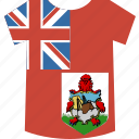 bermuda, shirt icon