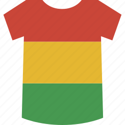 bolivia, shirt icon