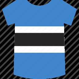 botswana, shirt icon