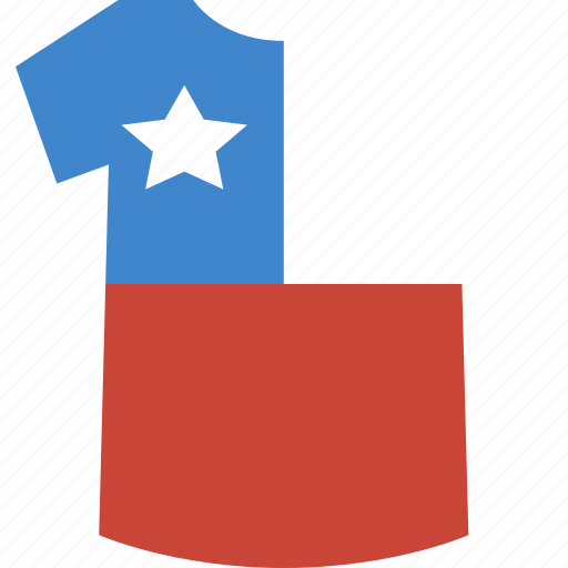 chile, shirt icon
