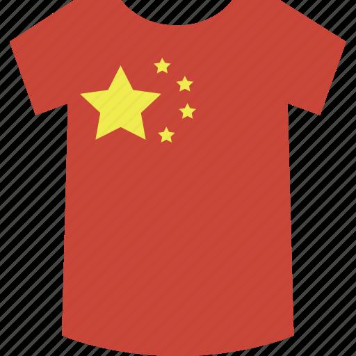 china, shirt icon