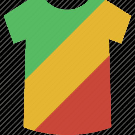 congo, shirt icon