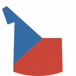 czech, republic, shirt icon